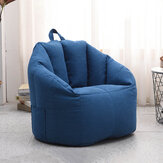 Cotton Bean Bag Cover Lazy Sofa Removable Traudio-videoel Kit for Indoor