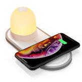 [QI Charge] BlitzWolf® BW-LT26 LED-nachtlampje met 10W Qi draadloze oplader Type-C Opladen van magnetische afneembare lamp