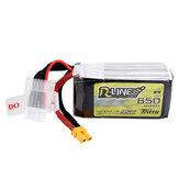 Tattu R-Line V1.0 14,8 V 650 mAh 95C 4S Lipo Batteria XT30 Spina per iFlight TITAN DC2 FPV Racing Drone