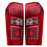 Car Left Tail Light Rear Lamp LED Type 3 With LED Bulbs And Harness For Isuzu DMax D-Max Ute 17-19 LHD