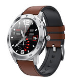 DT NO.1 DT98 Full Round HD Pantalla Pulsera bluetooth Llamada ECG Corazón Rate O2 Monitor Smart Watch