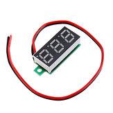 5pcs 0,28 polegadas Dois-fio 2.5-30V Digital Green Display DC Voltímetro Medidor de tensão ajustável
