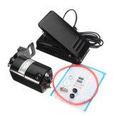 110V Home Sewing Machine 1.0 Amp Motor Foot Pedal Controller Repair 6000rmp Tools Kit