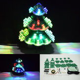 Geekcreit® DIY Creative Control remoto Colorful LED Music Christmas Tree Kit Decoración navideña Regalos pequeños