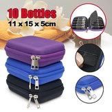 10 Bottles EVA Essential Oil Storage Bag Box