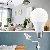 AC220-240V E27 15 W 2835 Hiçbir Titreşimsiz Sıcak Beyaz LED Küre Spot Ampul Yatak Odası Oturma Odası Ev Dekor için