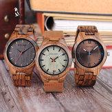 BOBO BIRD Q05 Męski zegarek na rękę Drewniany, kreatywny zegarek kwarcowy