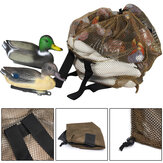 ZANLURE 120x75cm Large Outdoor Duck Decoys Bag Mesh With Shoulder Straps Backpack Decoy Storage Net Bag for Hunting