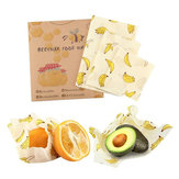 Safety Beeswax Food Wrap Fresh Keeping Reusable Paper Seal Storage Cover