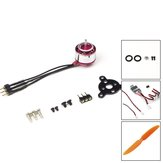 AEORC RC Power Combo MM1104H 1104 KV3700 3700KV Brushless Motor + 1s/2s 5A ESC+5030 Prop for RC Fixed Wing Airplane Plane