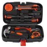 9pcs ménage combinaison kit cadeau ensemble de la boîte à outils matériel boîte à outils application large outil à main générale ménage outils kit