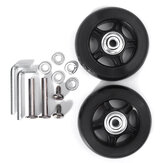 40/43/54/60/64/70 Luggage Suitcase Wheels Replacement Universal Swivel Repair Kit