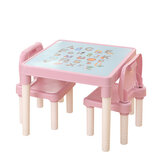 Children's Table Chair Set Plastic Education Learning For Kids Toddlers Childs