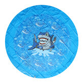 170cm Summer Inflatable Water Play Mat Playa Play Toys Sprinkler Pad Kids Wading Toys