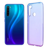 Bakeey Gradient Color Shockproof Soft TPU Protective Case for Xiaomi Redm Note 8 Non-original