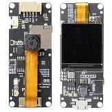 LILYGO®TTGOT-AparatfotograficznyPlusRozszerzenielinii Normalna wersja ESP32-DOWDQ6 Moduł kamery 8 MB SPRAM OV2640 Wyświetlacz 1,3 cala z płytką Bluetooth WiFi