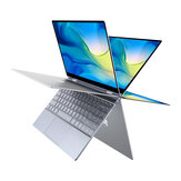 BMAX Y13 Laptop 13,3 inch 360 graden touchscreen Intel N4120 8 GB 256 GB SSD 5 mm Smalle rand Achtergrondverlichting Notebook