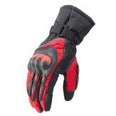 Gants de moto équitation vélo de protection imperméable hiver garder au chaud