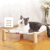Cat Hammock Four Corner Cat Litter Removable Cat Hammock Supplies Pet Pad Hanging Bed