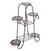 7 Tier Plant Stand Dispaly Shelf Decor Planter Holder Flower Pot Garden Rack