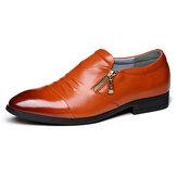Hombres de cuero de negocios Soft Zapatos formales