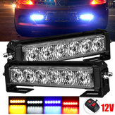 12V 36W 12LED Car Strobe Flash Grille Light Warning Hazard Emergency Lamp Bars Waterproof