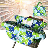 Baby Comfortable Shopping Trolley Cart Seat Pad High Chair Covers Protector Mat