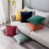Square Throw Pillow Cover Cushion Seat Sofa Waist Case Home Room Decoration Pillow Case