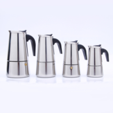 Stainless Steel Mocha Espresso Percolator Coffee Pot Stainless Steel Coffee Cup