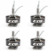 4 PCS Emax ECO Seri 2207 1900KV 3-6 S Brushless Motor untuk RC Drone FPV Racing