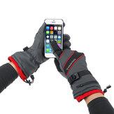 Guantes de ciclismo de esquí térmicos de invierno Guantes con pantalla táctil antideslizante