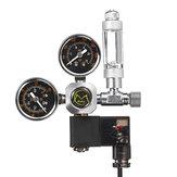 Aquarium System Dual Gauge CO2 Druckregler Blasenzähler Magnetventil