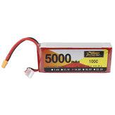 ZOP Power 14.8V 5000mAh 100C 4S Lipo Battery XT60 Plug for RC Quadcopter Car Airplane