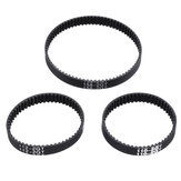 TWO TREES® 6mm Width 110/112/158mm Length Closed Loop GT2 Rubber Timing Belt for 3D Printer