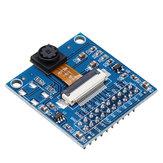 Módulo de câmera de 2 megapixels OV2640 com placa adaptadora STM32 / C51 Driver