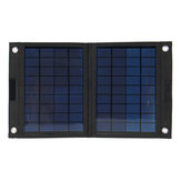 Sunpower 50W 18V Charger Panel Surya Lipat Solar Power Bank untuk Huawei iPhone Samsung