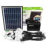 ソーラーパネルコントローラー付き18V 10W太陽光発電システム