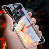 Bakeey Crystal Transparent Shockproof Hard PC Protective Case for Xiaomi Redmi Note 8