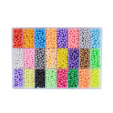 6000Pcs DIY Water Sticky Fuse Beads Plastic Toys Funny Kid Craft Decorations