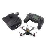 Eachine Novice-III 135mm 2-3S 3 Inch FPV Racing Drone RTF & Fly more w / 5.8G 40CH EV800 Goggles 2.4G ER8 zender