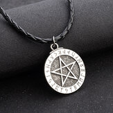 Five-pointed Star Pendant Men's Necklace