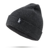 Unisex Warm Knitted Hat Ski Cap Pullover Wool Hat
