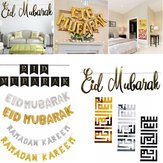 Eid Mubarak Ramadan Kareem Islam Pennant Bunting Home Party Banner Decoraties