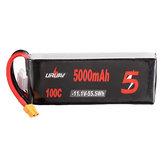 URUAV 11.1V 5000mAh 100C 3S Lipo Battery XT60 Plug for RC FPV Racing Drone