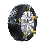 Auto Anti-skid Steel Chains Car Skid Belt Snow Mud Sand Tire Clip-on Chain S/M/L