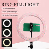 10 inch LED Ring Light Isi Cahaya Untuk Makeup Streaming Selfie Kecantikan Fotografi Makeup Mirror Light
