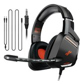 Plextone G800 3.5mm Wired Gaming Headphone Telescopic Gaming Gear Soft Comfortable Stereo Gaming Headset with Mic