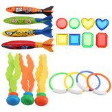 19PCS Swimming Pool Underwater Diving Toys Water Play Toys for Kids