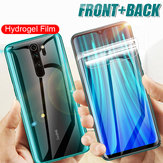 Bakeey HD Full Cover Hydrogel TPU Film Anti-Scratch Soft Front + Rear Screen Protector for Xiaomi Redmi Note 8 Pro Non-original