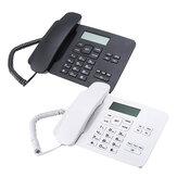 KX-T7001 Telefone fixo com fio LCD Escritório comercial Escritório doméstico Telefone fixo Telefone fixo